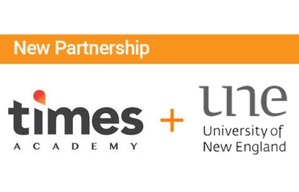 New Partnership with UNE
